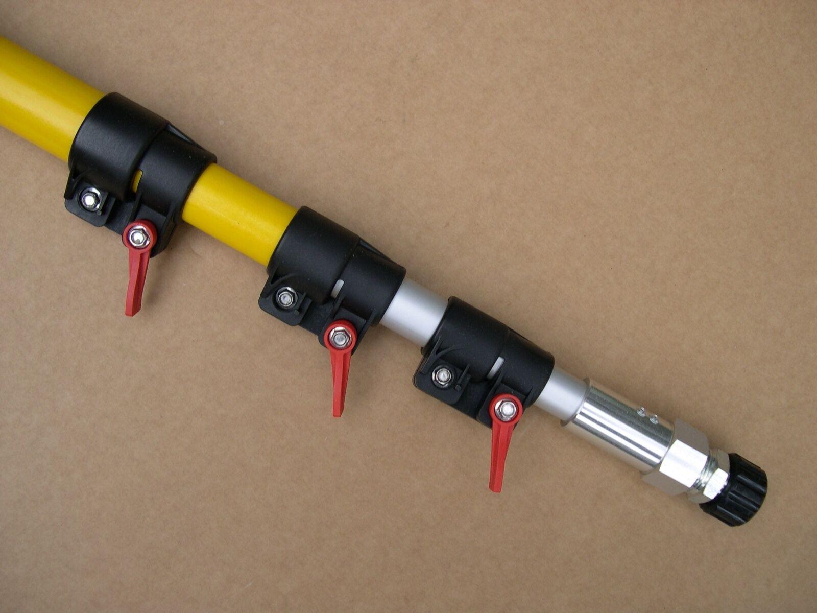Hochdruck-Teleskoplanze 15° bis zu 30/% leichter und max 7,5 Meter