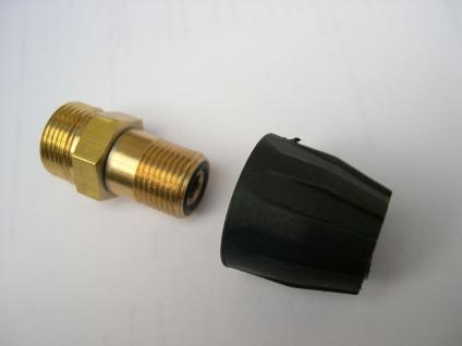 Adapter M22 AG / M18 AG mit Düsenschutzmutter Kränzle Kärcher Hochdruckreiniger