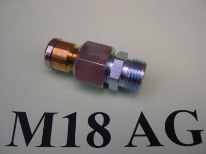 rotierende Rohrreinigungsdüse M18x1, 5 AG für Wap Alto C SC CS Hochdruckreiniger