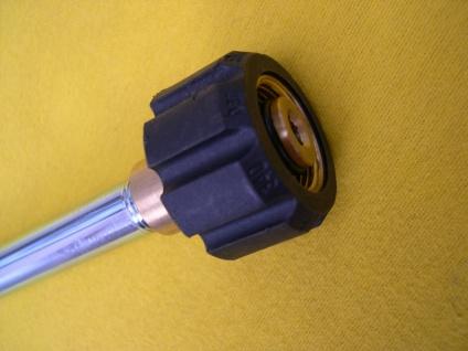 Lanze 75° abgewinkelt M22IG mit Düse für Kärcher Hochdruckreiniger - Pistole