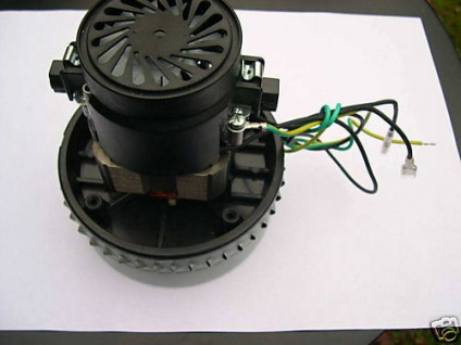 Turbine Motor 1, 2KW Wap Alto Turbo SQ 450ß 550 650 XL 1001 M2 SB710 SB711 Sauger