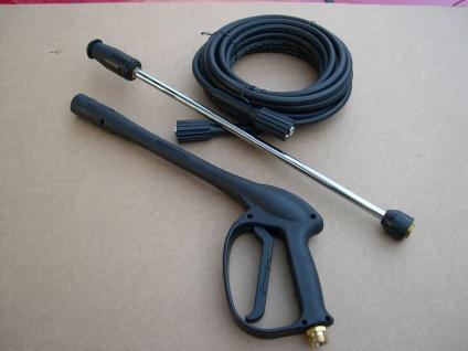 Set 15m Schlauch + Pistole + Lanze + Düse für Kärcher Kränzle Hochdruckreiniger