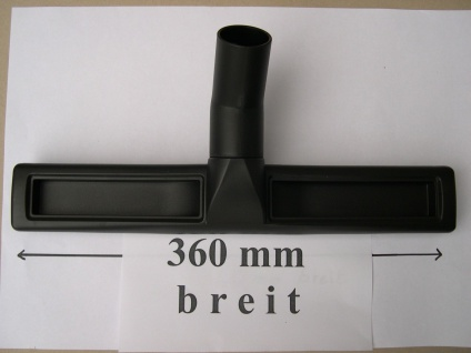 Parkettdüse 360mm Rosshaar DN35 für Eibenstock Hako Hecht Numatic Einhell Sauger