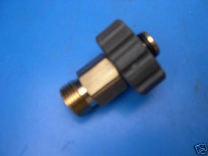 Quickverschraubung M18 / M21x1, 5 für Alto Wap Hochdruckreiniger Schlauch