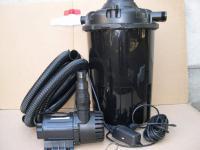 1x Gartenteichfilter - Anlage Druckfilter + 24W UVC + Filterpumpe PG 12000 L/h