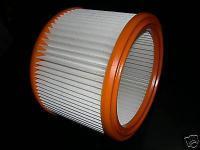 1x Luftfilter Filter Filterelement Wap Aero 400, 440 600 640 800 840 Staubsauger