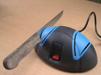 Messerschärfer (230V/50Hz) für Haushaltsmesser Küchenmesser Edelstahl - Messer