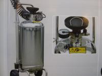 Edelstahl Vorsprühgerät mit 24L Behälter Reinigungsmittel Desinfektionsmittel