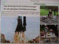 Profi Schlammsauger passend Wap Alto Hochdruckreiniger