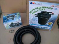 Resun Set Druckfilter + 24W UVC + Filterpumpe 12000 L/h