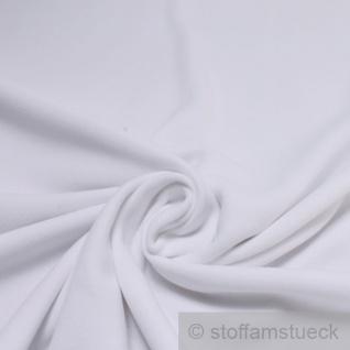 Stoff Polyester Fleece weiß warm weich