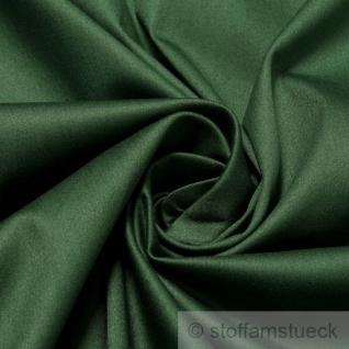 Stoff Baumwolle Elastan Satin tannengrün edel dunkelgrün grün