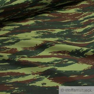 Stoff Polyester Flecktarn Tarndruck Camouflage Tarndruck wasserabweisend