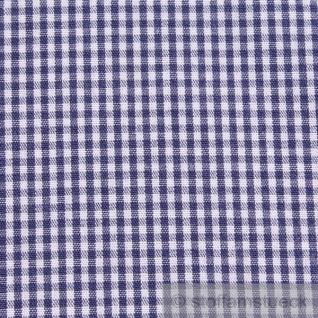 Stoff Baumwolle Vichy Karo klein dunkelblau weiß 1, 5 mm Swafing Canstein - Vorschau 3