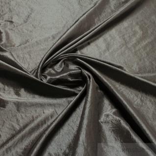 Stoff Polyester Crash Kleidertaft platin gecrasht Edelknitter - Vorschau