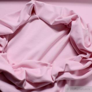 0, 5 Meter Baumwolle Lycra Bündchen rosa kbA GOTS 78 cm breit C.PAULI - Vorschau 1