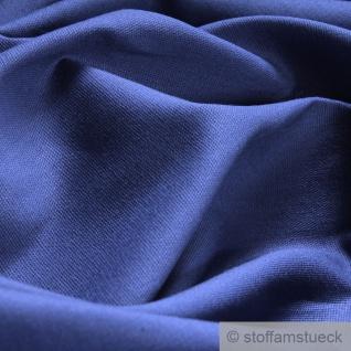 Stoff Baumwolle Popeline jeansblau Baumwollstoff blau - Vorschau 2