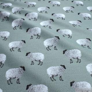 Stoff Baumwolle Polyester Gobelin Schaf Decke Kissenbezug Tasche