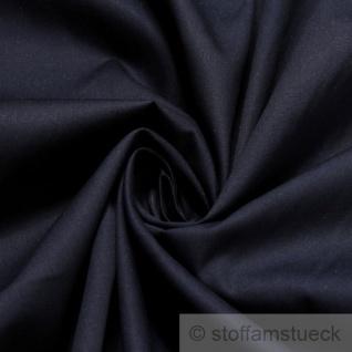 Stoff Baumwolle Popeline dunkelblau Baumwollstoff