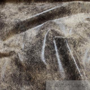 Stoff Polyester Nappa Antik braun Kunstleder waschbar weich knitterfrei