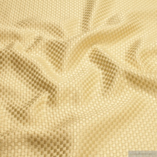 Stoff Viskose Baumwolle Panama pastellgelb Polsterstoff 40.000 Martindale