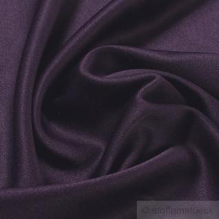 Stoff Polyester Elastan Satin violett blickdicht elastisch glänzend glatt