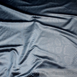 Stoff Polyester marine Schlange Klapperschlange Reptil gewebte Struktur