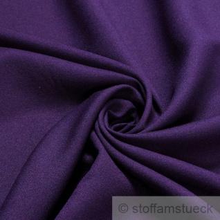 Stoff Polyester Viskose Crêpe de Chine aubergine leicht transparent weich violett