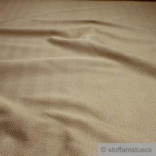 Stoff Polyester Viskose Fischgrat honig Polsterstoff strapazierfähig