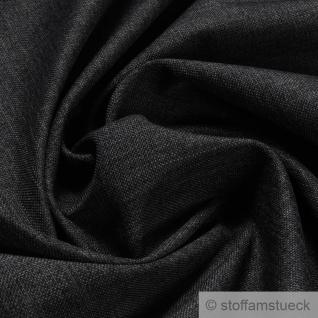 Stoff Polyester Leinwand anthrazit Kissenbezüge Polster Taschen weich dunkelgrau