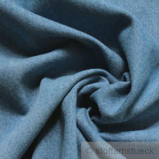 Stoff Baumwolle Köper Jeans hellblau vorgewaschen Jeansstoff Denim weich