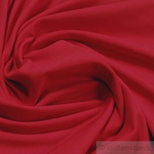 0, 5 Meter Stoff Baumwolle Elastan Single Jersey rot T-Shirt Tricot weich dehnbar