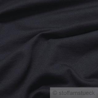 Stoff Baumwolle Single Jersey dunkelblau angeraut Sweatshirt weich dehnbar blau - Vorschau 2