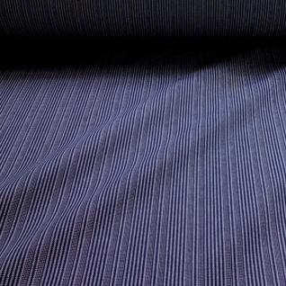 Stoff Baumwolle Stresemann Streifen dunkelblau weiß Stresemannstreifen stabil