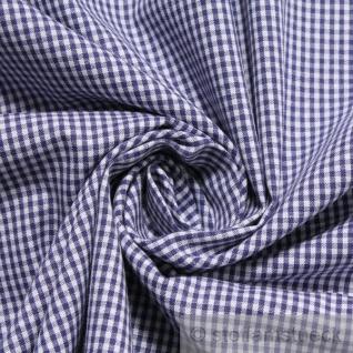 Stoff Baumwolle Vichy Karo klein dunkelblau weiß 1, 5 mm Swafing Canstein - Vorschau 2