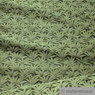 Stoff Polyester Gobelin schwarz Hanf Cannabis Marihuana