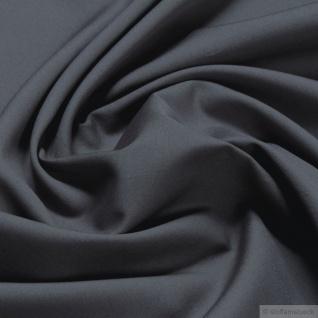 Stoff Baumwolle Leinwand mausgrau Baumwollstoff grau Neutral Grey durchgefärbt