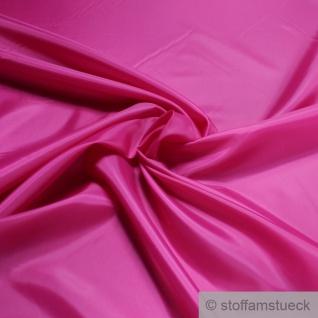 2 Meter Stoff Polyester Futter Taft pink Futterstoff
