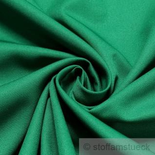 10 Meter Stoff Polyester Baumwolle Köper grasgrün kochfest Mischgewebe grün