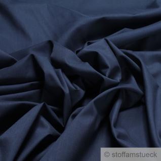 Stoff Baumwolle Batist dunkelblau leicht luftig transparent