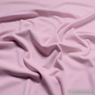 0, 5 Meter Baumwolle Lycra Bündchen rosa kbA GOTS 78 cm breit C.PAULI - Vorschau 2
