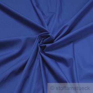 Stoff Baumwolle Popeline kobaltblau Baumwollstoff mittelblau