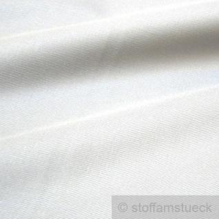 Stoff Baumwolle Köper weiß Baumwollstoff kochfest fest stabil