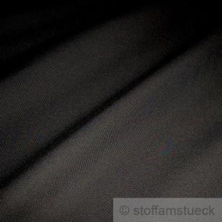 Stoff Baumwolle Köper schwarz Baumwollstoff robust fest schwer