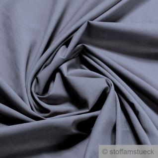 Stoff Baumwolle Batist grau leicht luftig transparent mausgrau