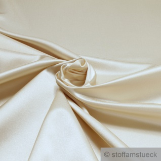 Stoff Polyester Baumwolle Satin champagner Polsterstoff 100.000 Martindale