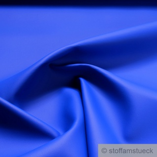 Stoff PVC Kunstleder skai® Palma NF kobaltblau feine Narbung lichtecht