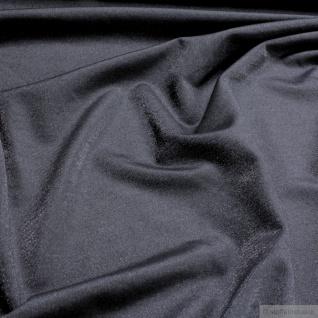 Stoff Viskose Polyester Elastan Single Jersey Glitzer anthrazit Glitter knitterarm