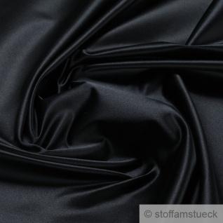 Stoff Seide Satin schwarz anschmiegsam