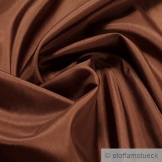 2 Meter Stoff Polyester Futter Taft kupfer Futterstoff